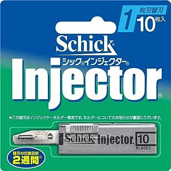 シック Schick インジェクター 1枚刃 替刃 (10枚入)