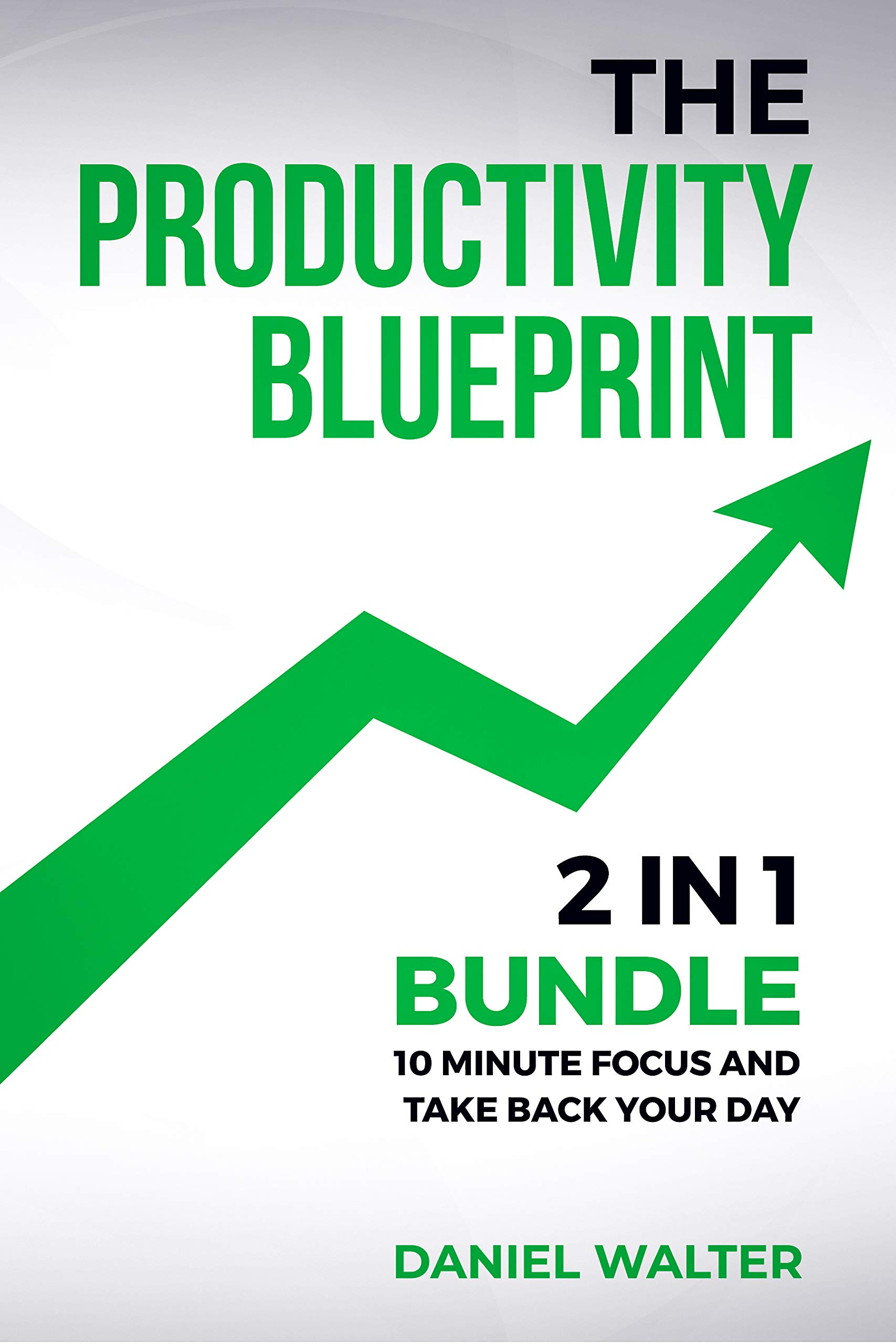 Image OfThe Productivity Blueprint: 2 In 1 Bundle: 10 Minute Focus And Take Back Your Day