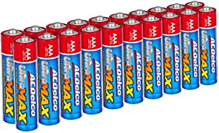 ACDelco AAA Batteries UltraMAX Premium Alkaline Battery, 20-Count