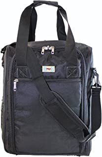 Personal Item for AA, Frontier, Spirit airlines (BLACK) 2-Day-Shipping
