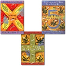 Don Miguel Ruiz Toltec Wisdom Series Collection 3 Books Set,(The Four Agreements: Practical Guide to Personal Freedom, The Mastery of Love and The Fifth Agreement)