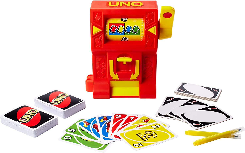 Mattel Games UNO Wild Jackpot Game DNG26 for sale online