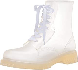 Jessica Simpson Women's Rain Boot, Clear, 5 M