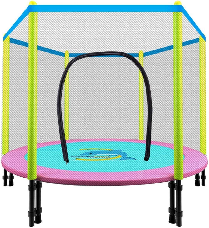 colores increíbles TOOWE Diversión con Actividades de jardín jardín jardín Infantil al Aire Libre de Trampoline Junior de 48 55 Pulgadas con rojo de Seguridad  despacho de tienda