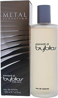 Byblos Elementi Di Sensation Eau de Toilette Spray Metal 4 Ounce