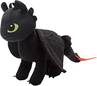 Franco Kids Bedding Super Soft Plush Snuggle Cuddle Pillow, One Size, How to Train Your Dragon Toothless