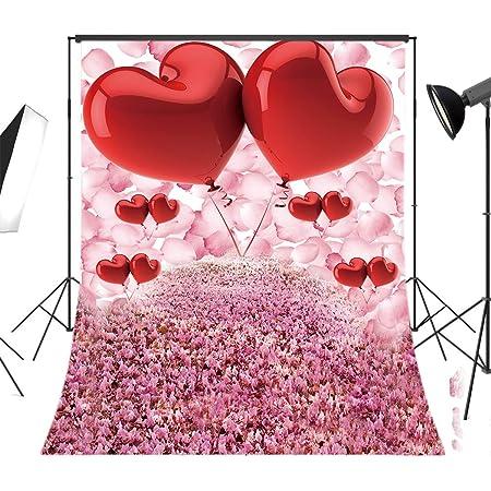 VVM 10x7ft Black Shading Gold Rose Backdrop Birthday Party Photography Background Valentines Day Photoshoot Backdrop Photo Shoot Props LSVV023