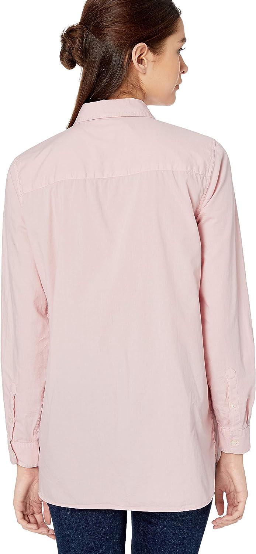 Goodthreads Womens Lightweight Twill Two-Pocket Relaxed Shirt Brand
