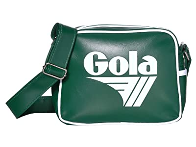 Gola Micro Redford (Bottle Green/White) Messenger Bags