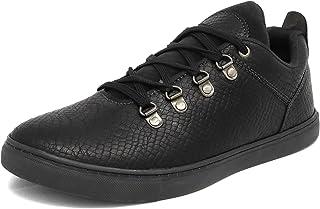 Marc Loire Men Casual Lace-Up Shoes, Faux Leather Sneakers - ML0075100240-P