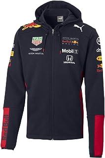Red Bull Racing Official Teamline Zip Felpa con Cappuccio, Uomini X-Large - Abbigliamento Ufficiale
