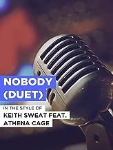 Nobody (Duet)
