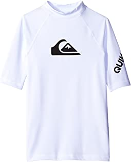 Quiksilver Kids - All Time Short Sleeve Shirt (Big Kids)