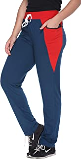 69GAL Shaun Women Track Pant Plain with Side Bone (Multicolor) (S/M/L/XL/3XL/5XL)(Pack of 1)