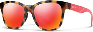 Smith Wayfarer Sunglasses for Women - Orange Lens, Caper O63X6