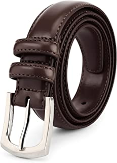 Best brown leather belts mens Reviews