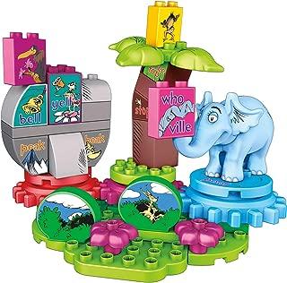 Mega Bloks Dr. Seuss Horton Finds a Who Building Set (40 Piece), Multicolor