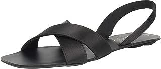 Catwalk Black Flat Sandals