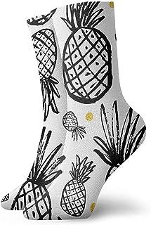 Dydan Tne, Niños Niñas Locos Divertidos Plantas Tropicales Calcetines Divertidos de Piña Calcetines Lindos de Novedad