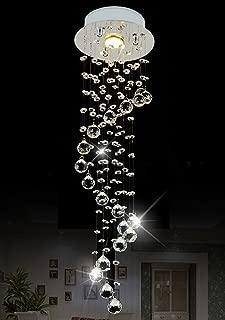 Raindrop Chandelier Lighting Modern Crystal Ceiling Lighting D7.9