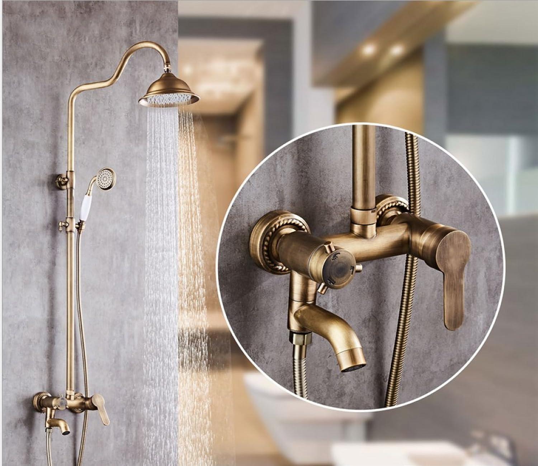 Terrific Adjustable Shower Vintage European Copper Set Shower Lift Yn Best Image Libraries Ponolprimenicaraguapropertycom
