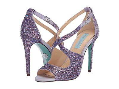 Blue by Betsey Johnson Sage (Lilac) High Heels