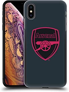 Official Arsenal FC Third 2017/18 Crest Kit Hard Back Case Compatible for iPhone Xs Max