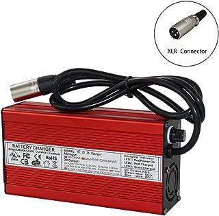 67.2V 3A Charger 60V Li-ion Battery Smart Charger Used for 16S 60V Li-ion Battery Input 90-230V Global Certification (67.2V3A XLR)