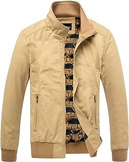 Men's Essential Cotton Lightweight Bomber Jacket