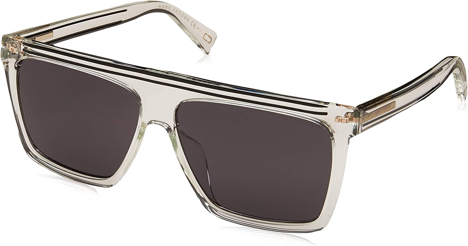 Marc Jacobs Women's Marc 322 G S Crystal Grey bluee Polarized One Size