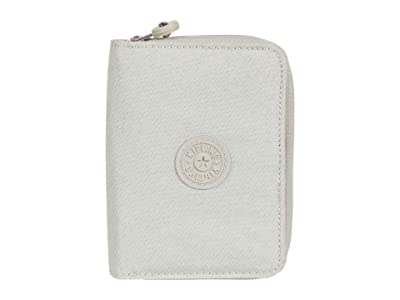 Kipling Money Love RFID Wallet (Galaxy Twist Grey) Handbags