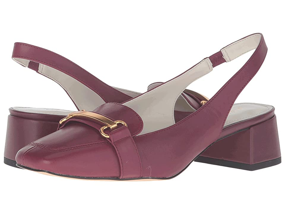 Anne Klein Abbie (Wine Leather) Women