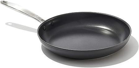 "OXO Good Grips Pro Nonstick Dishwasher Safe Black Frying Pan, 12"""