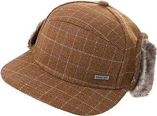 Unisex Faux Fur Winter Hunting Bomber Russian Weather Trapper Earflap Hat Flaps Cap 55-61cm