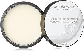 JAPONESQUE Solid Brush Cleanser, Goat-Milk