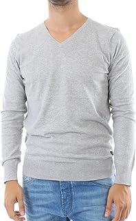Scotch & Soda Men's Nos - Classic Melange V-Neck Pull Sweatshirt
