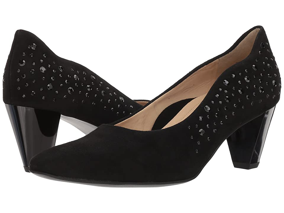 ara Pippa (Black Suede) Women