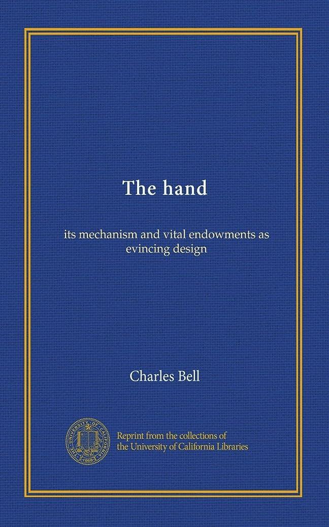 く散歩に行く幾分The hand: its mechanism and vital endowments as evincing design