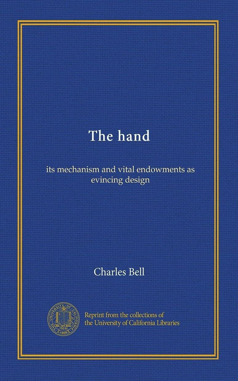 リブまどろみのあるセマフォThe hand: its mechanism and vital endowments as evincing design