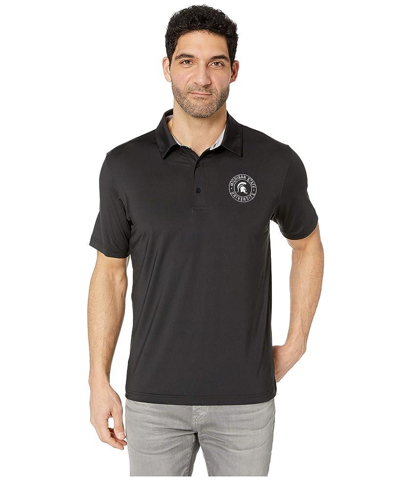 天使灰前件[チャンピオン] メンズ シャツ Michigan State Spartans Solid Polo [並行輸入品]