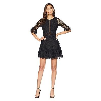 BB Dakota In The Moment Lace Dress (Black) Women