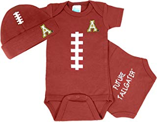 Appalachian State Baby Football Onesie and Football Hat Set
