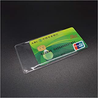 Waterproof Transparent Pvc Card Cover Silicone Plastic Cardholder Case To Protect Credit Cards