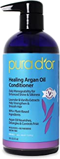 PURA D'OR Healing Argan Oil Conditioner for Dry, Damaged, Frizzy Hair, w/Aloe Vera,..