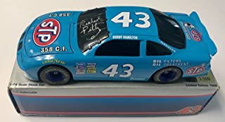 Richard Petty 25th Anniversary STP Racing Red/Blue Signed 1/24 Diecast Car (D) - Autographed Diecast Cars