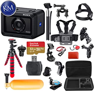 Sony Cyber-Shot DSC-RX0 II Digital Camera with 38-in-1 Action Bundle