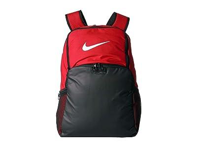Nike Brasilia XL Backpack 9.0 (University Red/Black/White) Backpack Bags