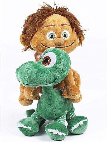 2 Pcs Good Dinosaur Arlo /& Human Spot Plush Toy Soft Stuffed Doll USA Stock
