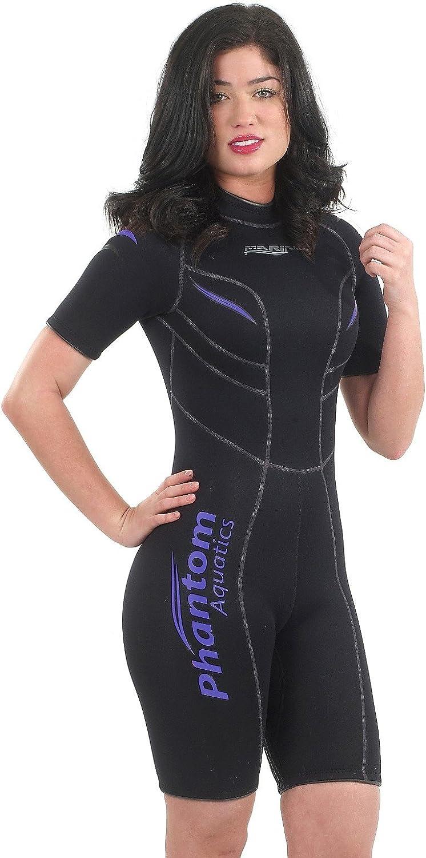 Phantom Aquatics Marine 40% OFF Cheap Sale Women's Shorty Twilight - Black Virginia Beach Mall 10