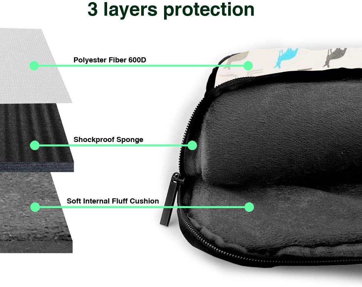 MATEH Australia Kangaroos Laptop Sleeve Case 14 Inch Computer Tote Bag Shoulder Messenger Briefcase for Business Travel